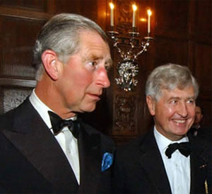 Prince Charles and Christopher Moran