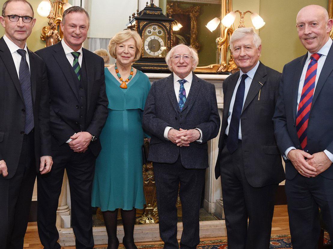 President Ireland Christopher Moran Football Friendly Martin Michael O'Neill