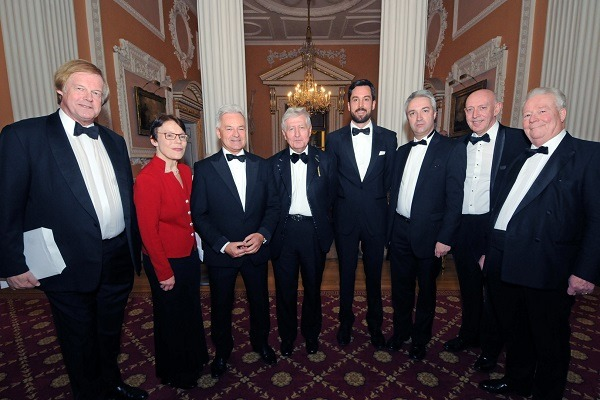 Dr. Christopher Moran Alan Duncan Sir David Wooton Co-operation Ireland Mansion House City Dinner