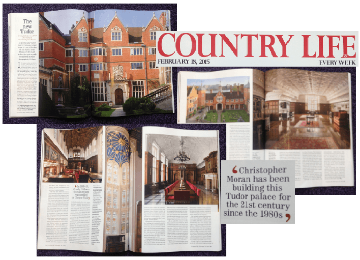 Country Life Crosby Hall interior feature Christopher Moran