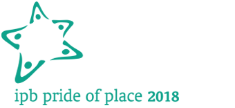 IPB Pride of Place Logo in cooperation with Co-operation Ireland