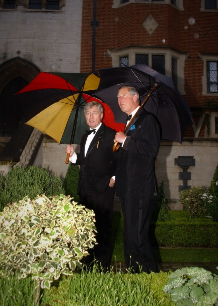 Dr. Christopher Moran and The Prince of Wales, Prince Charles Mary Rose Trust